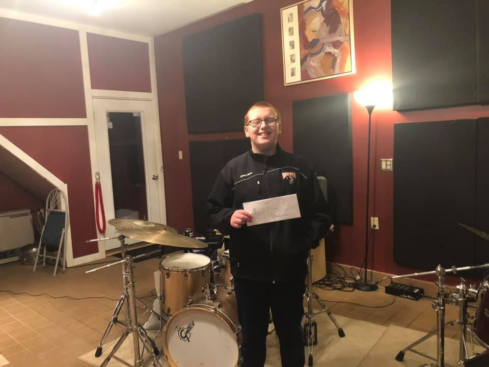 Brewer Student Wins Scholarship While Raising Money for Music