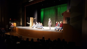 Brewer Youth Theatre Performs for BCS Students