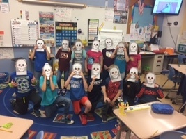Second Graders love Mystery Doug!