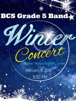 Grade 5 Band - Winter Concert