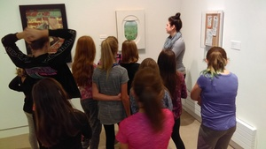 BCS Art Students Visit UMaine Art Museum