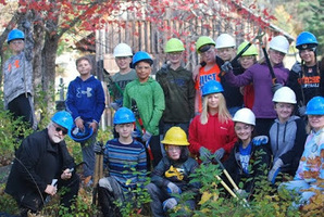 7th Graders Visit Leonard's Mills in the Penobscot Experimental Forest