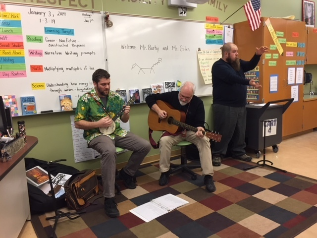 Mr. Burby and Mr. Estes Perform