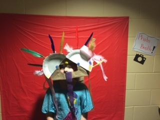 Family fun night with Mrs. Becker second grade. We made lion dance costumes to celebrate Chinese New Year!
